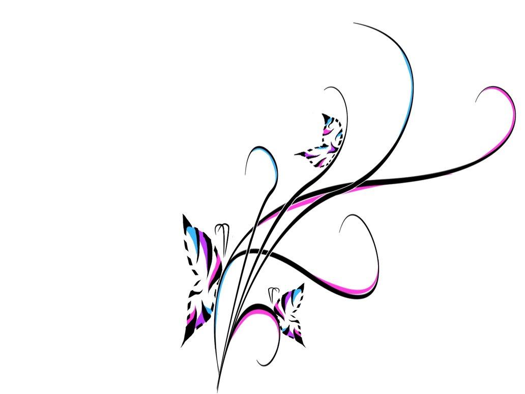 Swirl Art Designs : Tattoo swirl designs cliparts