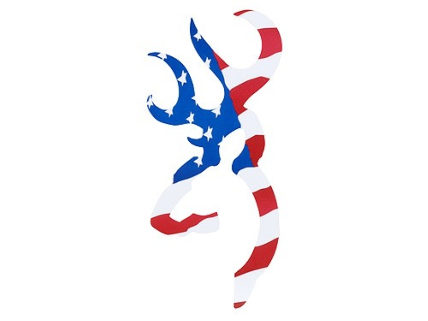Browning Buck Mark Decal 4 American Flag