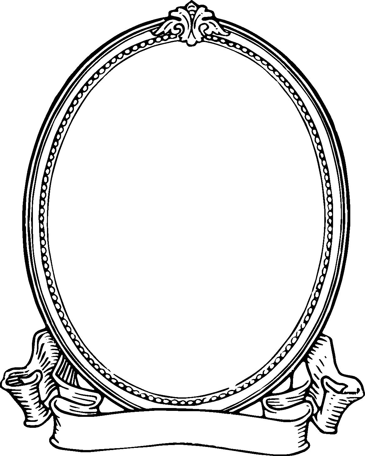 Schwarzes Bild Rahmen ...