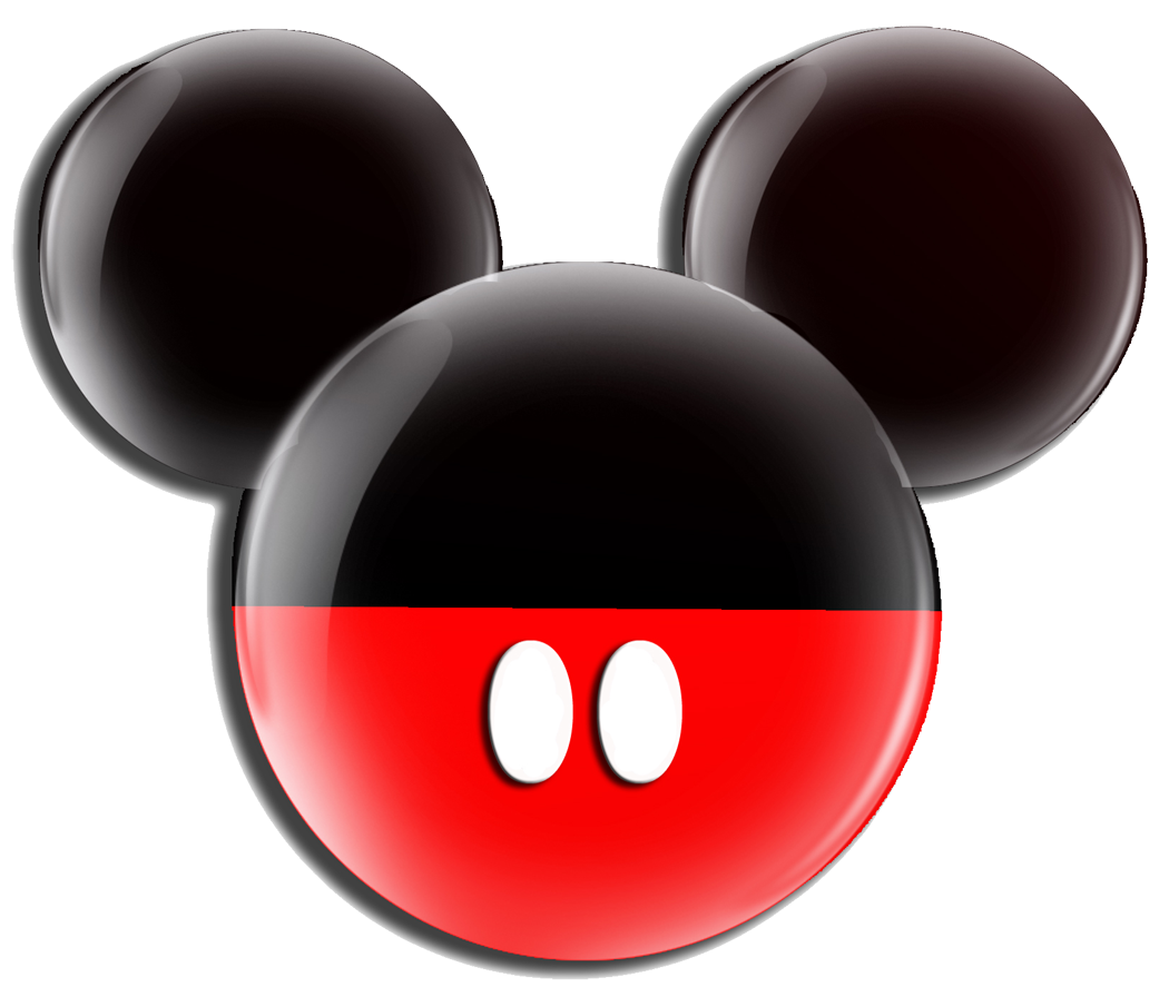 Mickey Mouse Ears Outline - Cliparts.co
