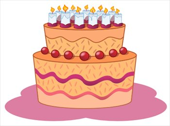 Free Birthday Cakes Clipart - Free Clipart Graphics, Images and ...