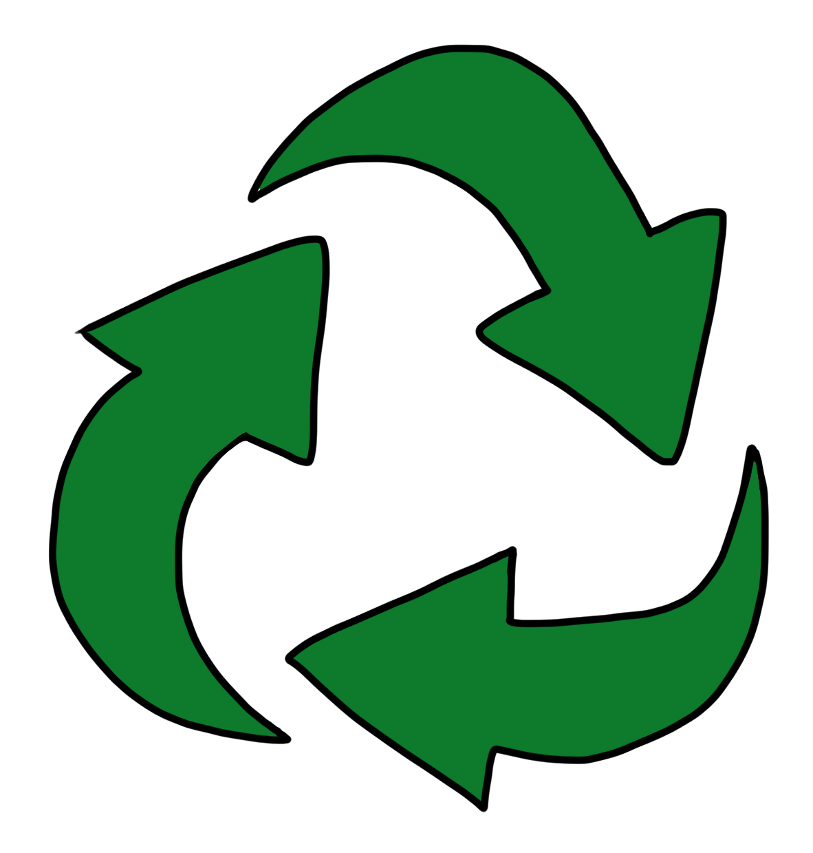 Cool Recycle Logo Recycling Symbol Clip Art icon