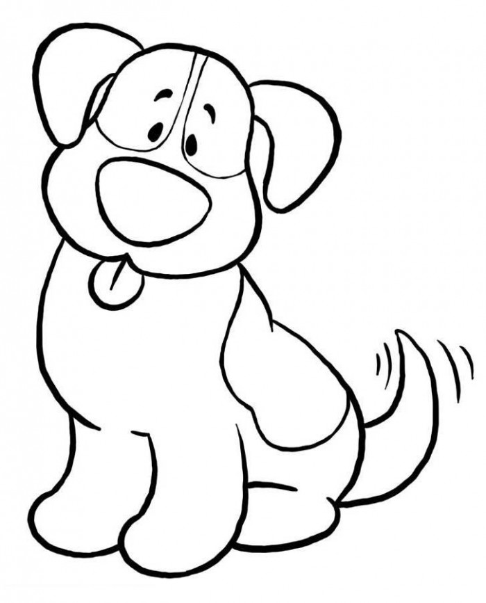Line Drawing Of A Dog S Face : Line drawings of dogs cliparts