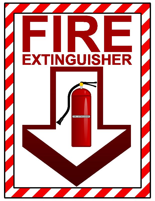 fire extinguisher clip art clipartsco