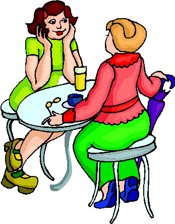 Friends Drinking Coffee | Clipart Panda - Free Clipart Images
