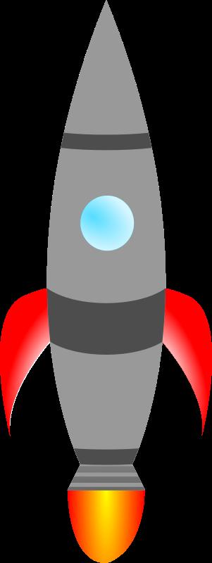 Free to Use & Public Domain Rocketship Clip Art