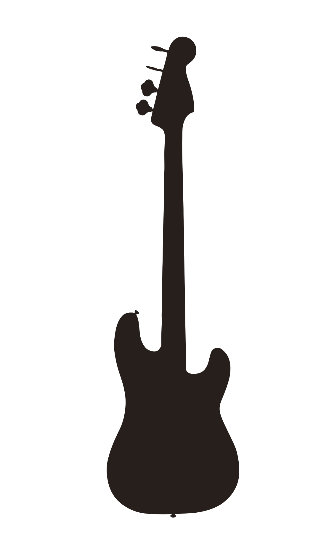 Guitar Silhouette png ...