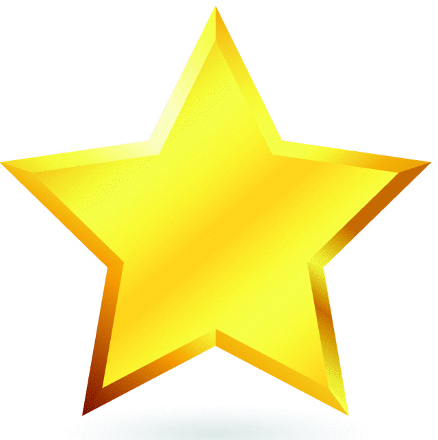 Gold Star Images - Cliparts.co