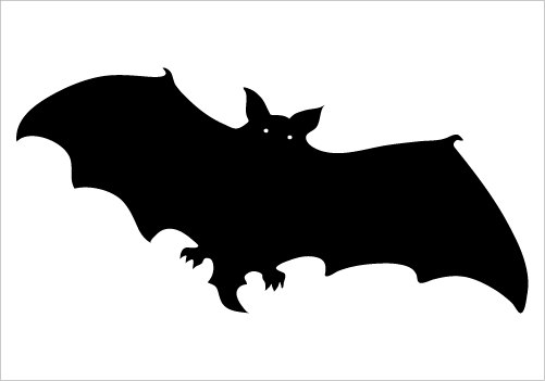Flying Bat Silhouette Download Now Silhouette Graphics