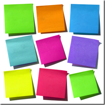 Pix For > Pink Post It Notes Png