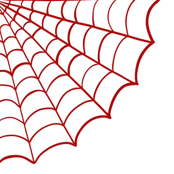 Corner Spider Web Clipart Black And White Images ...
