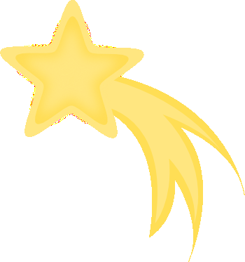 yellow-shooting-star-clipart | Mr. Alex's Super Second Grade
