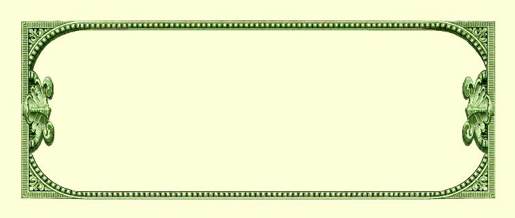 Blank Dollar Bill Template - Cliparts.co