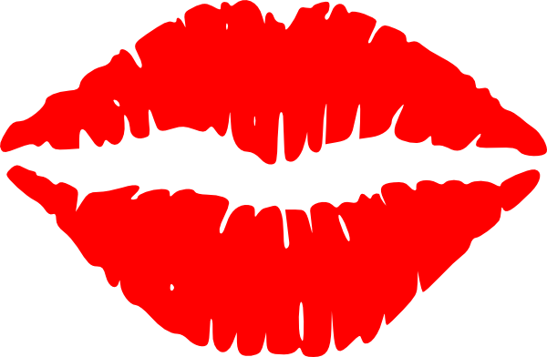 Pin Kissing Lips Clip Art Picture Of Lips Kissing