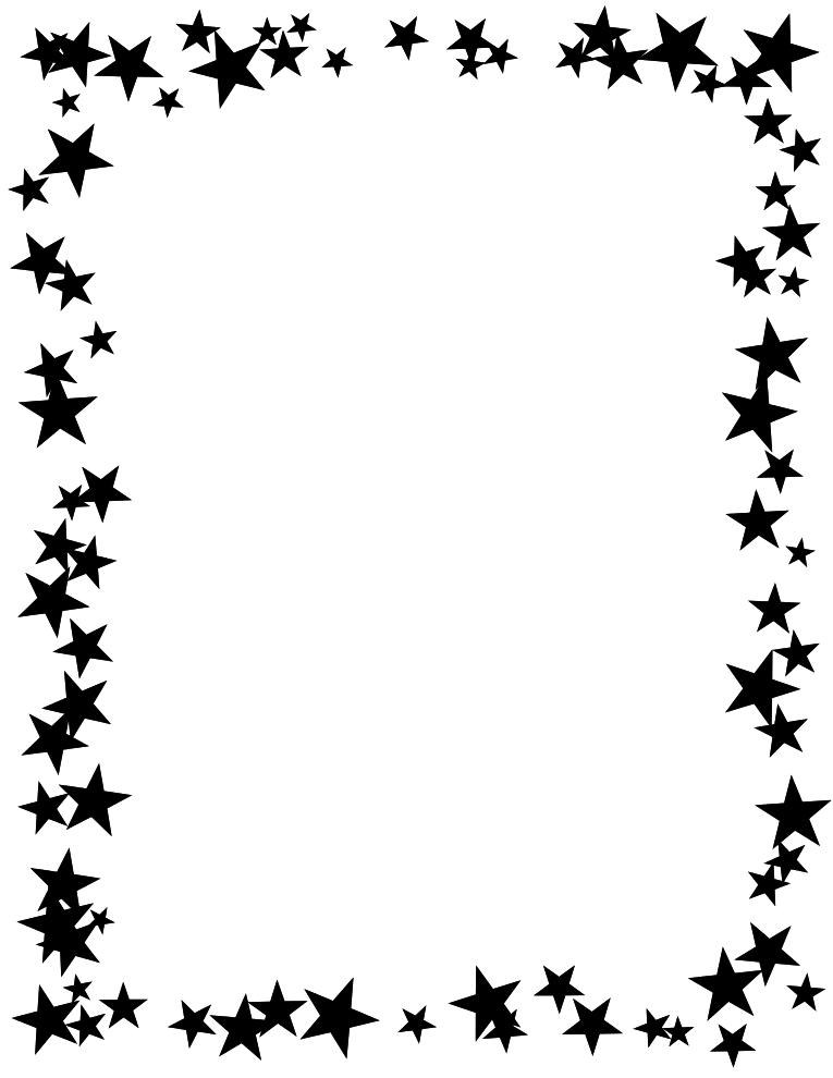handprint border clip art clipartsco