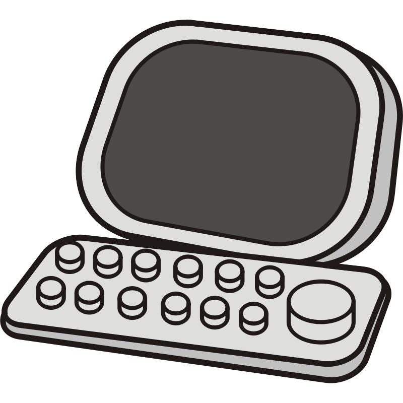 Clipart - Basic Computer