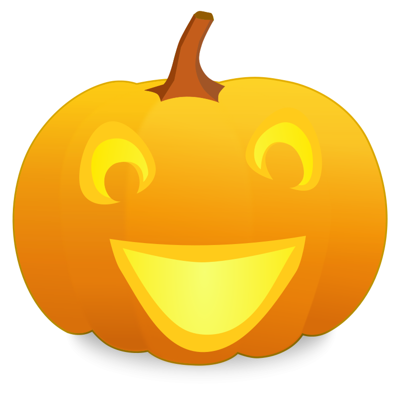 Happy Pumpkin Clip Art - Cliparts.co