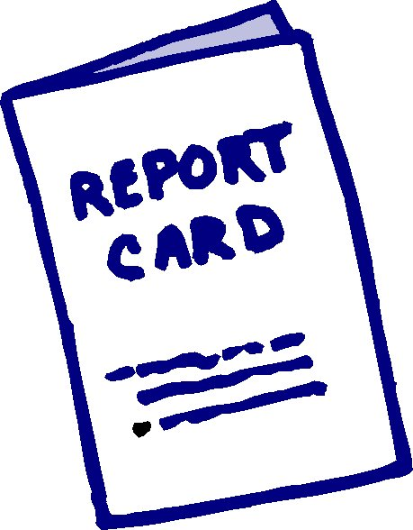 free clipart school report card - photo #1
