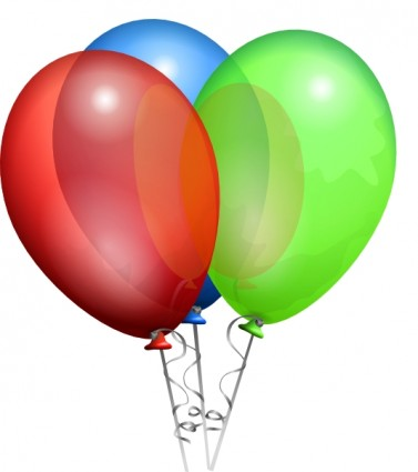 Party Helium Balloons clip art Vector clip art - Free vector for ...