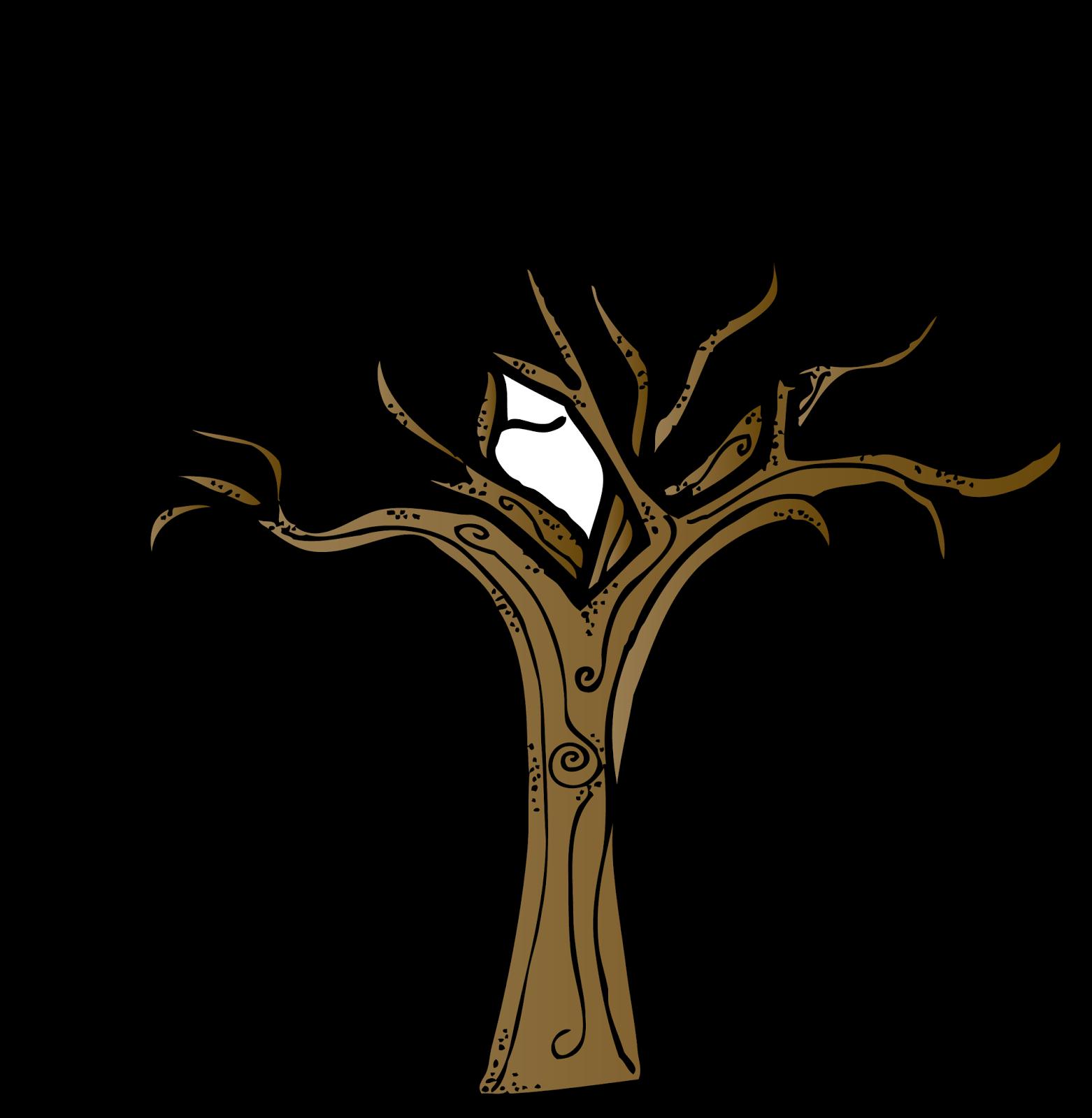 Bare Tree Template