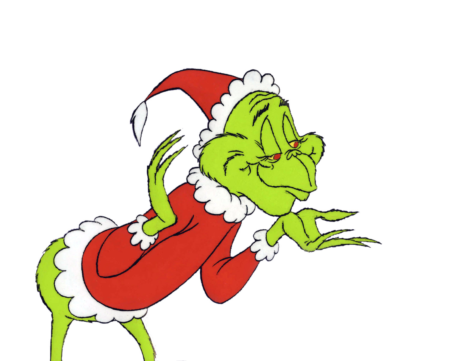 The Grinch Clip Art Pix For > The Grinch Who Stole Christmas Book Characters