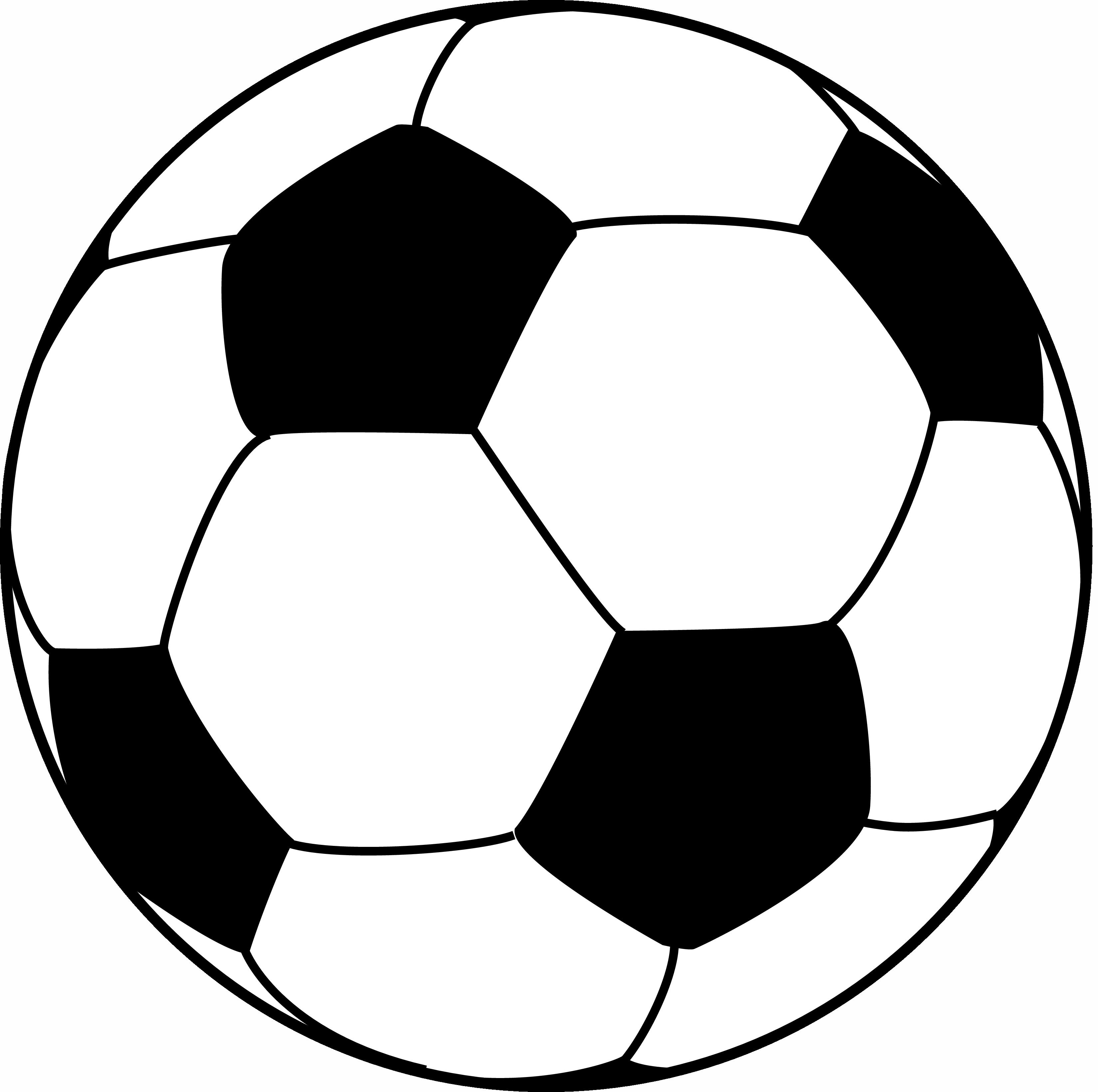 Football Drawing Template | Soccer Ball Drawing Template Ashlee Club Tk