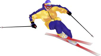 Snow Ski Clip Art - Cliparts.co