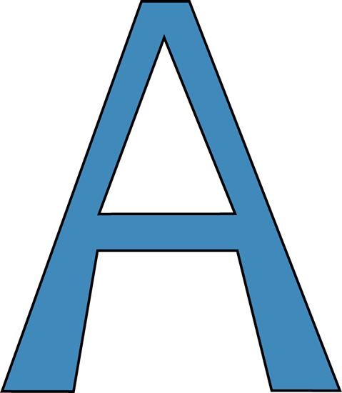 blue letter a clipart rh worldartsme com a clipart picture of a welcome mat a clipart png