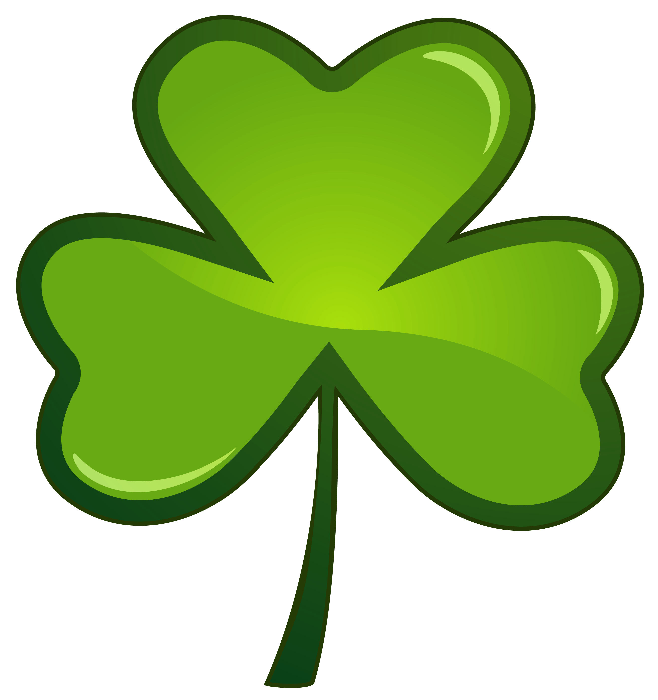 St Patricks Day Shamrock PNG Clipart Picture
