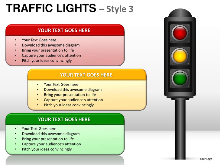 Traffic Light Template Cliparts