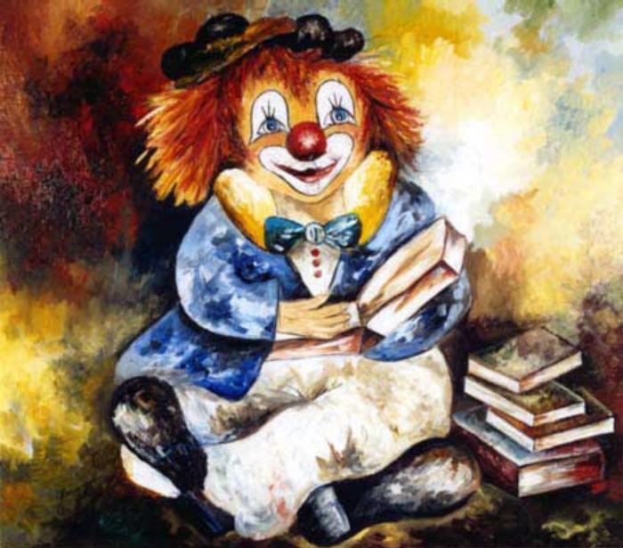 Clown bilder for Clown schminken bilder