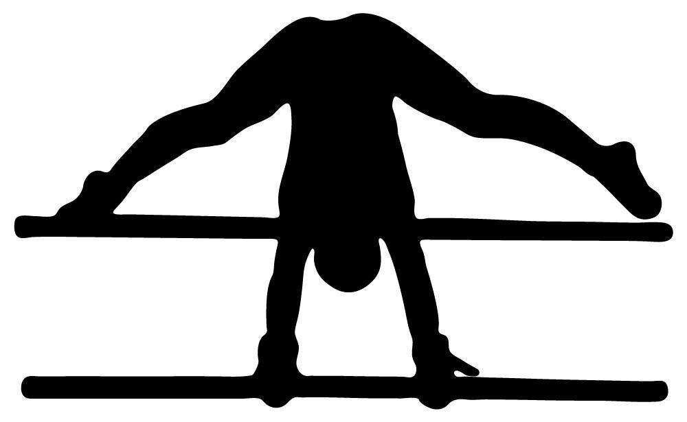 Uneven Bars Gymnastics Clip Art 51B1mNguybL  SL1000  jpg