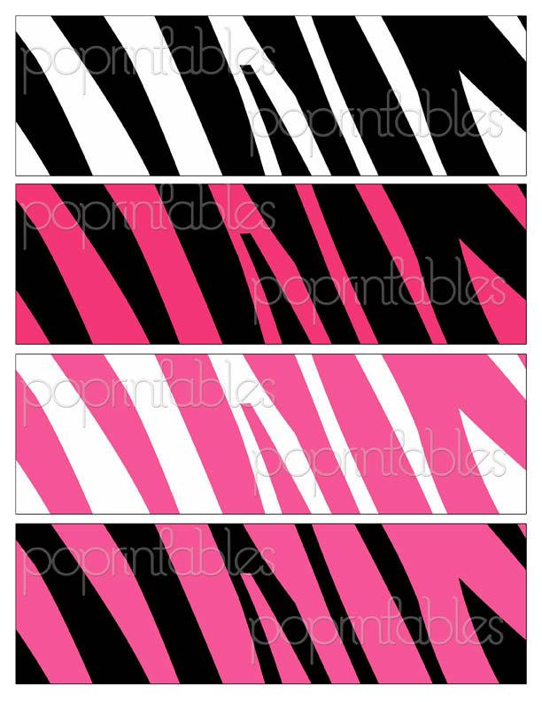Zebra Print Clip Art Zebra Print Clip Art -...