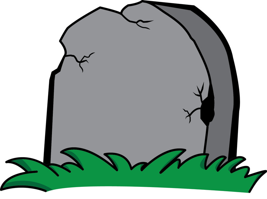 Clipart Tombstone - Cl...