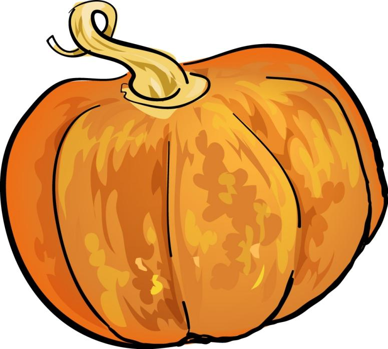vintage pumpkin clip art - photo #18