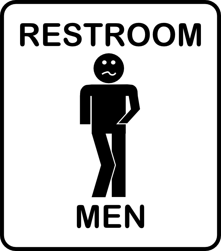 Clipart - Mens Room