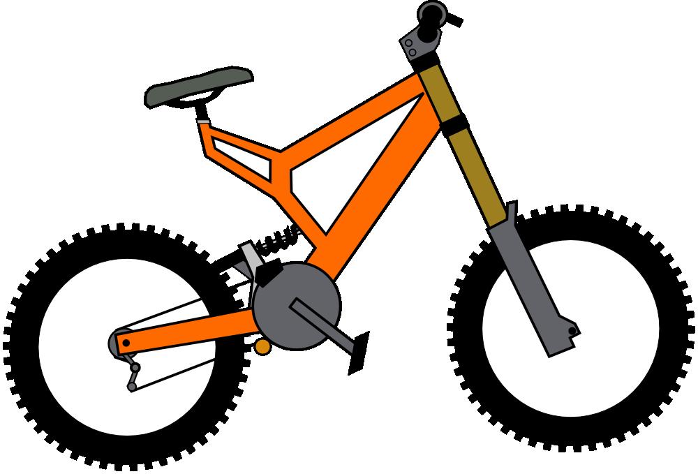 clipart mountain bike rider - photo #21