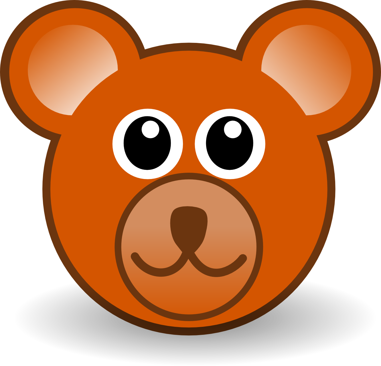 Cartoon Brown Bear - Cliparts.co