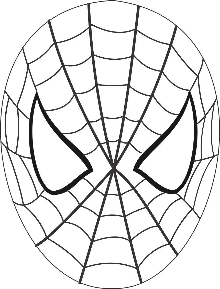It's just an image of Stupendous Spider Template Printable