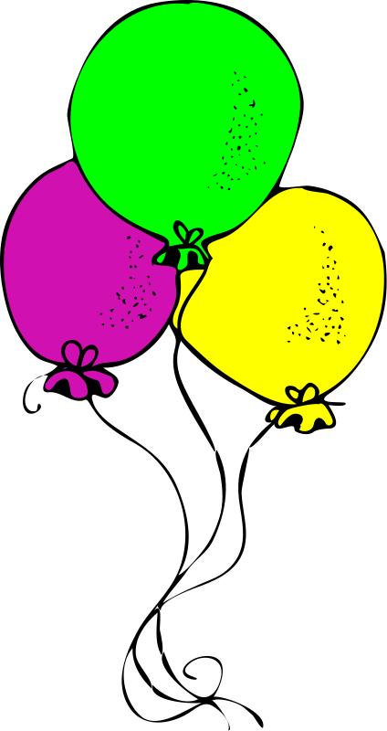 Birthday Balloons Clip Art - ClipArt Best - ClipArt Best