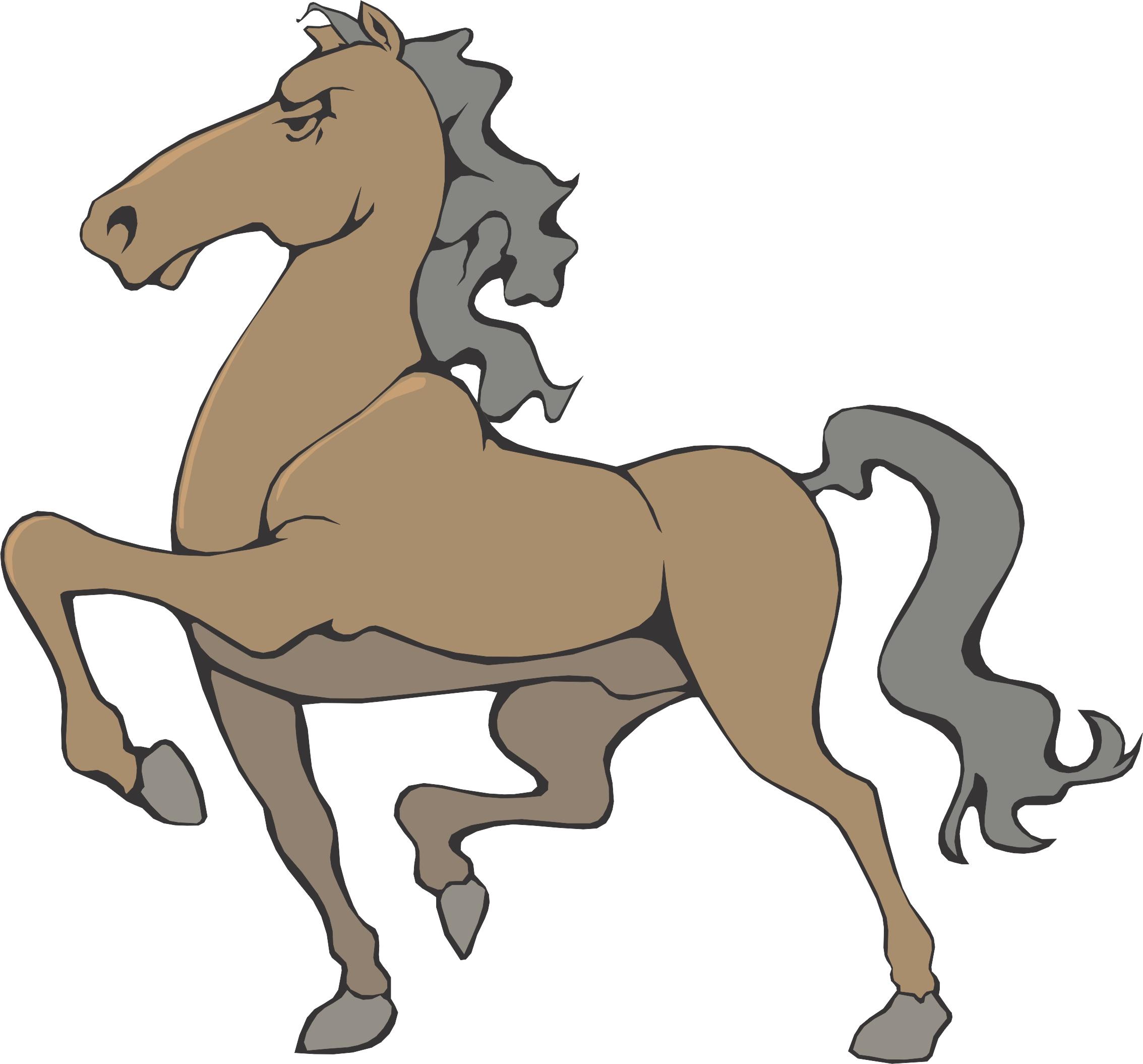 Horse Cartoon Cartoon Horse  Page 5