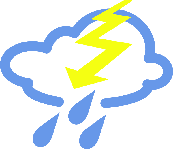Thunder Storms ... Free Clip Art Weather Pictures