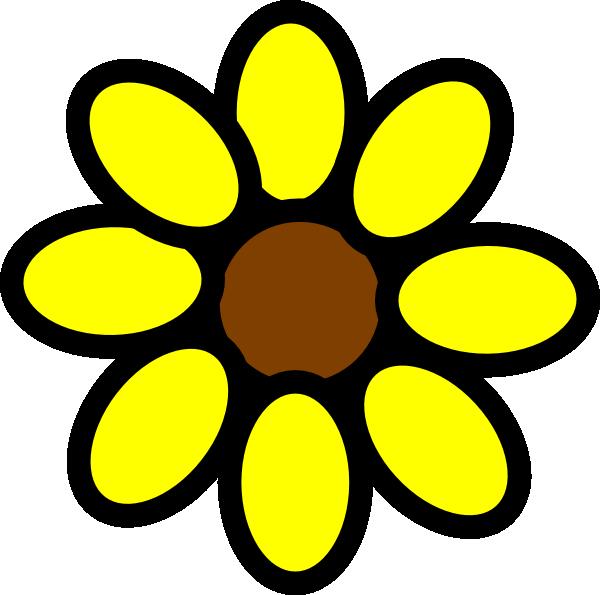 Sun Flower Clip Art - Cliparts.co
