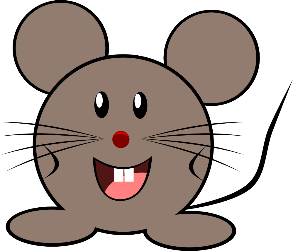 christmas mouse clipart - photo #4