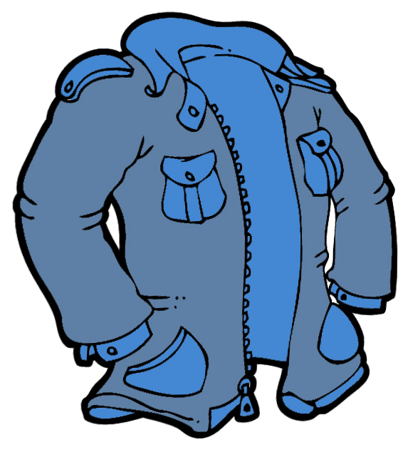 clipart of a jacket - photo #1