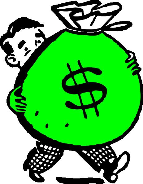 clipart money bag - photo #48