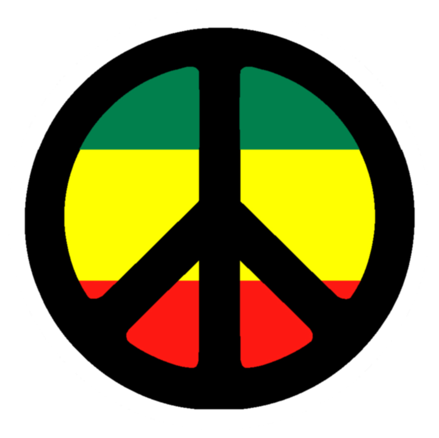 Religion Clip Art Of A Patriotic Wavy Rastafari Movement Flag