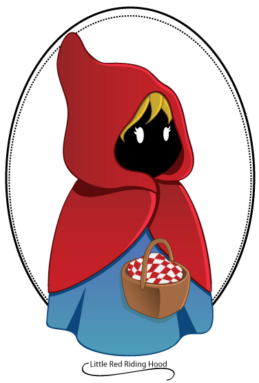 Little Red Riding Hood Clip Art | ClipArtLog.