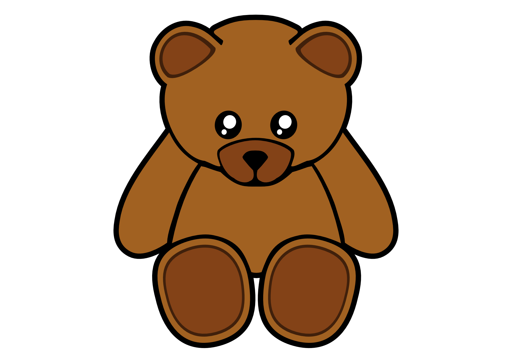 clipartist.net » Clip Art » simple teddy bear clipartist.net 2012 ...