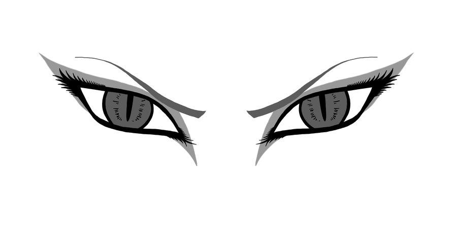 angry cartoon eyes clipartsco